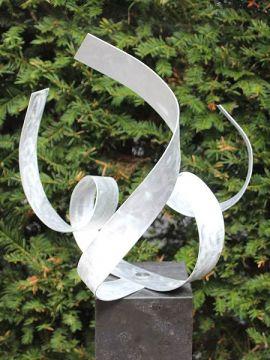 Aluminiumkunst Octopus exkl. Sockel
