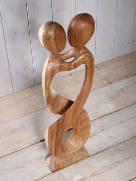 """Skulptur Holz """"Samen"""""""
