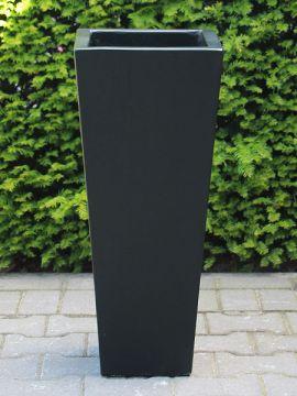 Blumentöpfe für draußen leichtbeton 76*32 cm. schwarz
