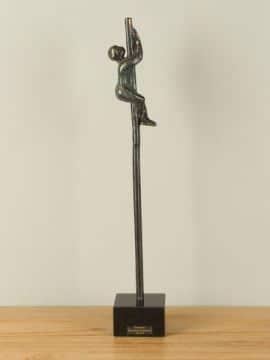 Dekofigur Bronze Op naar de top