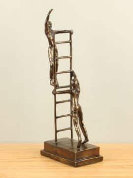Bronze Dekoration To the top