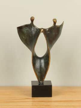 Figur Bronze Dans