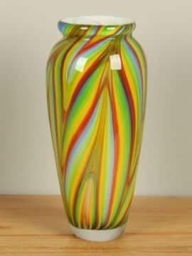 Glasvase farbig 31 cm