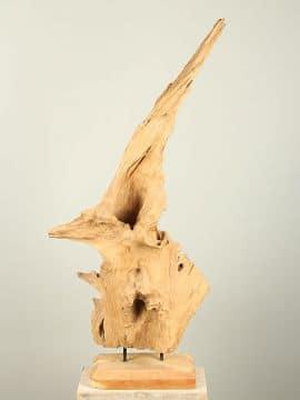 Holzskulptur Teak YA/EH-24