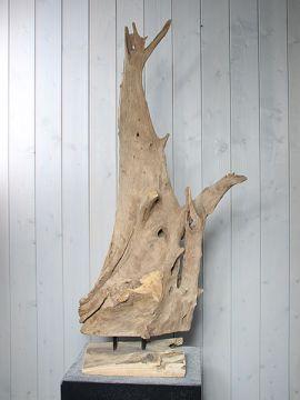 Holzskulptur Teak YA-18