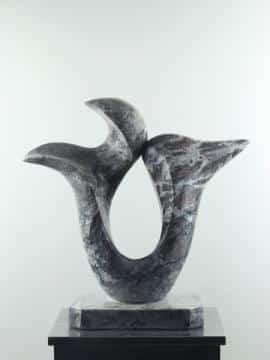 Marmor Skulptur Come Together multi