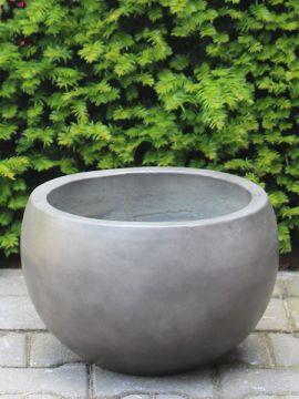 Plantenbak light cement 15*21 cm. kleur antraciet