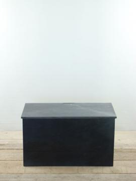 Sockel Marmor schwarz 35x60x30 cm.