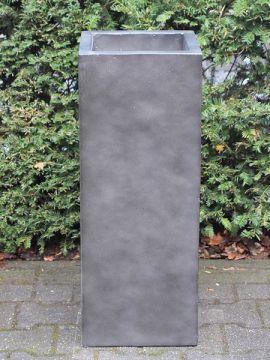 Blumenkästen für draußen leichtbeton anthrazitfarbe 70*27*27 cm.