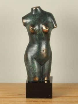 Dekofigur Bronze Torso 35 cm.