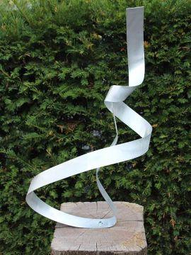 Aluminiumkunst Wind exkl. Sockel