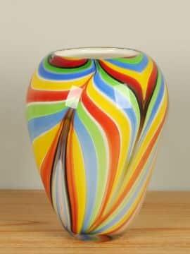 Vase farbig 27 cm