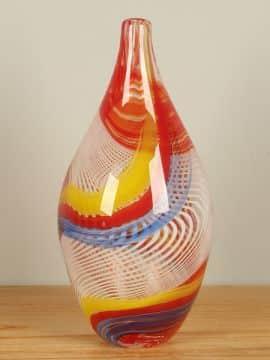 Vase mehrfarbig 37 cm