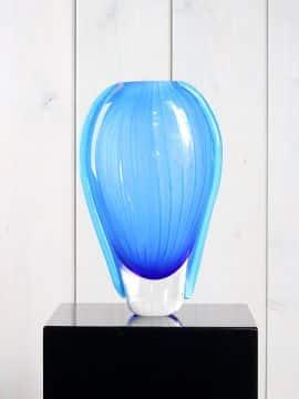 Vase Glas blau GL6060
