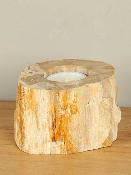 Windlicht Fossiles Holz nr. 23