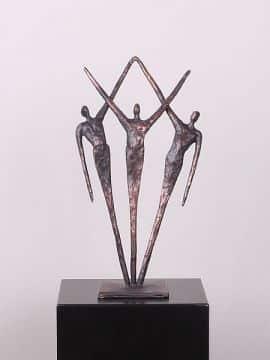 Kupfer Figur Samen