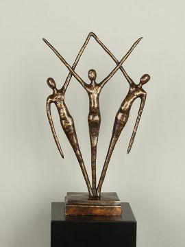 Bronzefigur Samen XL