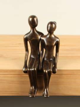 Statue Bronze Paar