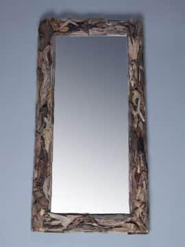 treibholz-Spiegel 140x70 cm.