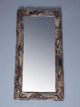 treibholz-Spiegel 160x80 cm.