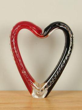 Skulptur Glas Herz NZS-1017