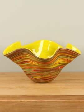 Schale Glas farbig GL10840
