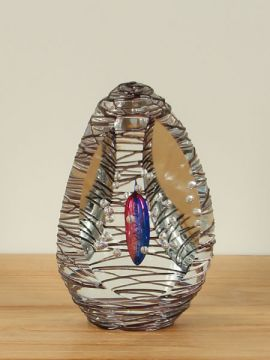 Skulptur Kristall Glas