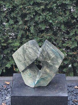 Rocks 1, citroen opaal sculptuur