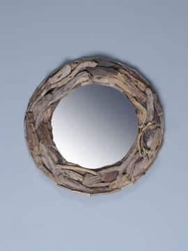 treibholz-Spiegel durchmesser 60 cm.