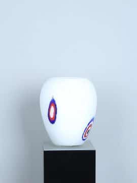 Vase Glas weiß LO-17