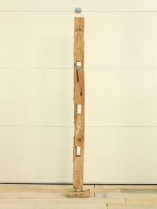 Holzskulptur Teakholz 12 GJ