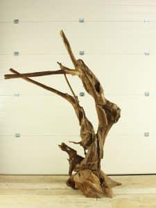 Holzskulptur Teakholz 11-1 GJ