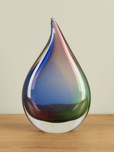 Glasskulptur Regenbogen
