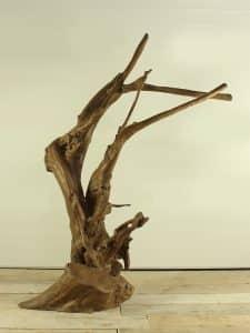 Holzskulptur Teakholz 6-1 GJ