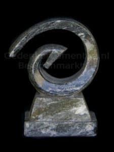 Statue Internalcycle 45 - schwarz Marmor