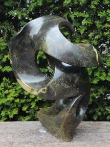 Gartensculptur Serpentin