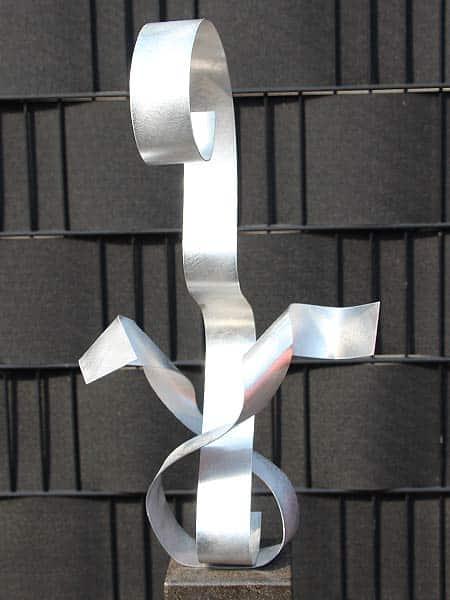Aluminiumkunst Love exkl. Sockel