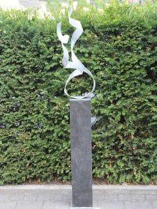Together inkl. Hardstein Säule 80*15*15 cm