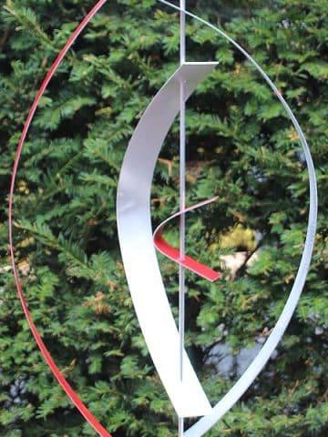 Aluminiumkunst Red 4 exkl. Sockel