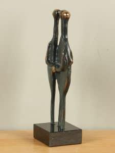 Statue bronze Samen