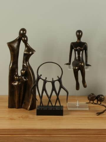 Bronzen beelden voor binnen