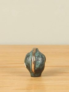 Skulptur Bronze Olifantje