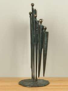 Bronze Statue Eensgezind