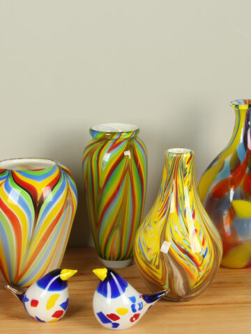 Vazen uit glas