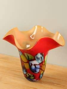Schale Glas farbig GL10880