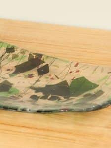 Schale Glas frit Glas