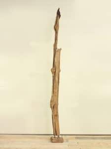 Holzskulptur Teakholz 15 GJ