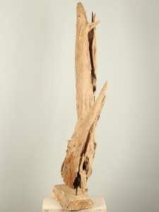 Holzskulptur Teak YA/EH-27