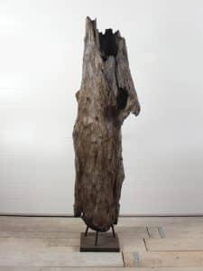Holzskulptur Teakholz 56
