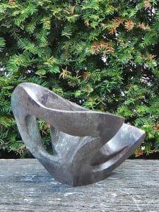 Kobaltstein Skulptur Pretty 27 cm
